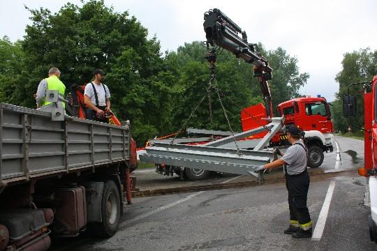 Freiwillige Feuerwehr Krems/Donau - Hochwassereinsatz in Krems Tag II