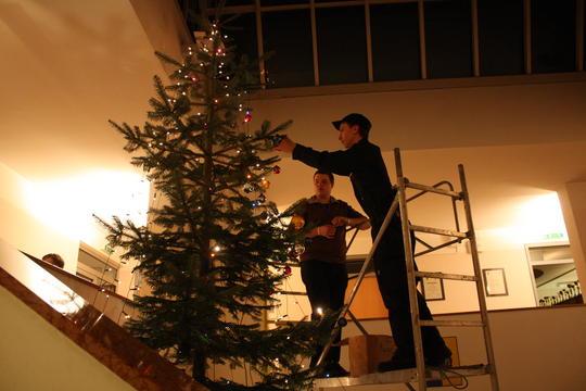 Christbaumkugeln Feuerwehr.Freiwillige Feuerwehr Krems Donau Elternabend Und Weihnachtsbaum