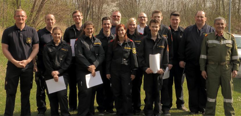 Freiwillige Feuerwehr Krems/Donau - 9 neue Truppmänner in FF Krems ausgebildet!
