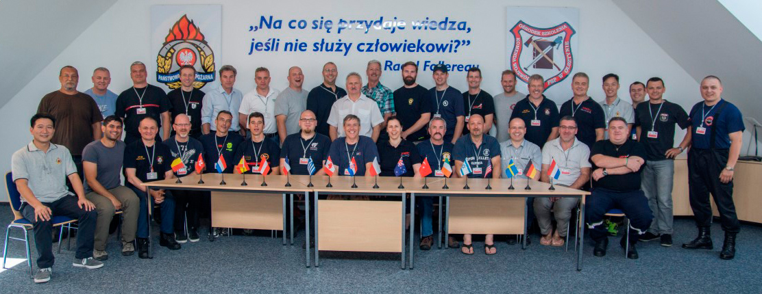 Freiwillige Feuerwehr Krems/Donau - Kremser Ausbilder bei International Fire Instructors Workshop 2014 in Polen