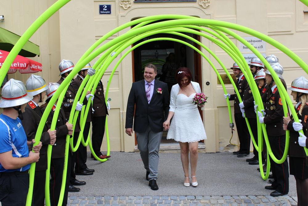 Freiwillige Feuerwehr Krems Donau Hochzeit Patrik Leopold