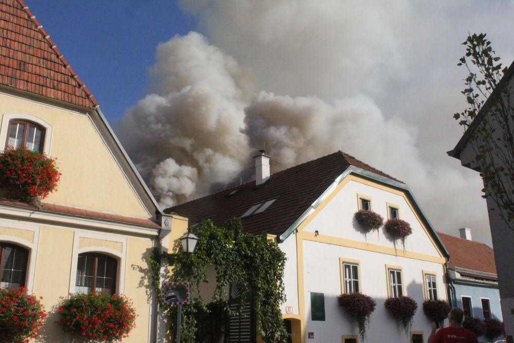 Grossbrand Krems 25.8.2017
